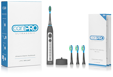 Electric toothbrush deluxe package