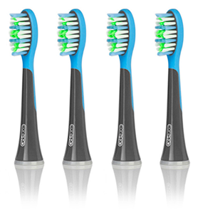 Electric toothbrush heads 4 pack
